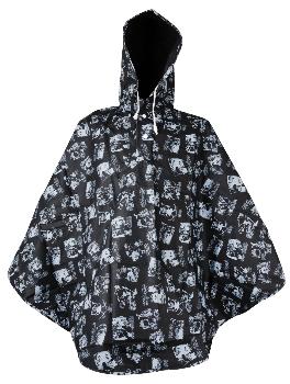 Moomin Rain poncho - Black