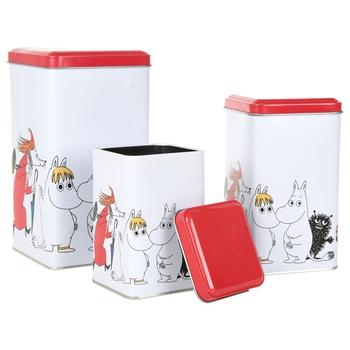 Moomin Tins 3-Pack - Figures