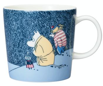 Arabia Moomin Mug - Snow moonlight - Season Mug Winter 2021