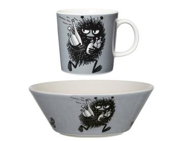 Package Price - Arabia - Moomin - Stinky - Mug + bowl
