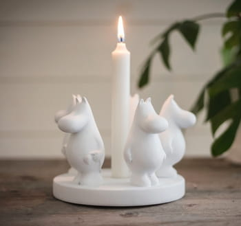 Moomin Our sea Candlestick - Eternity (Polystone)