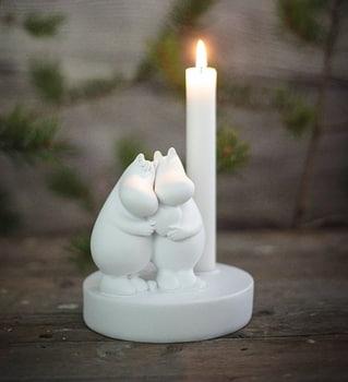 Moomin True Love Ljusstake - Polystone