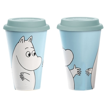Moomin Take Away mug - Moomintroll Happy