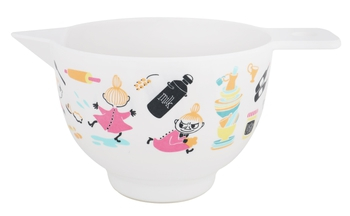 Mumin Bakskål 1 liter - Lilla My bakar - Pastell