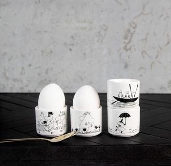 Moomin Egg Cups 4 Pcs