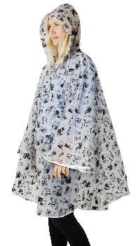Moomin Rain poncho - White
