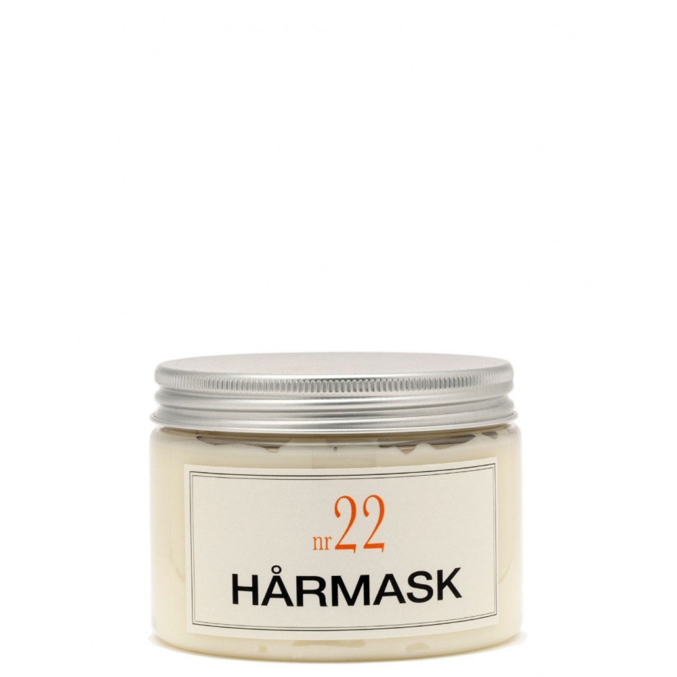 Bruns Products Hårmask 22 Varm Bergamott 350ml- För torrt, skadat & tjock hår