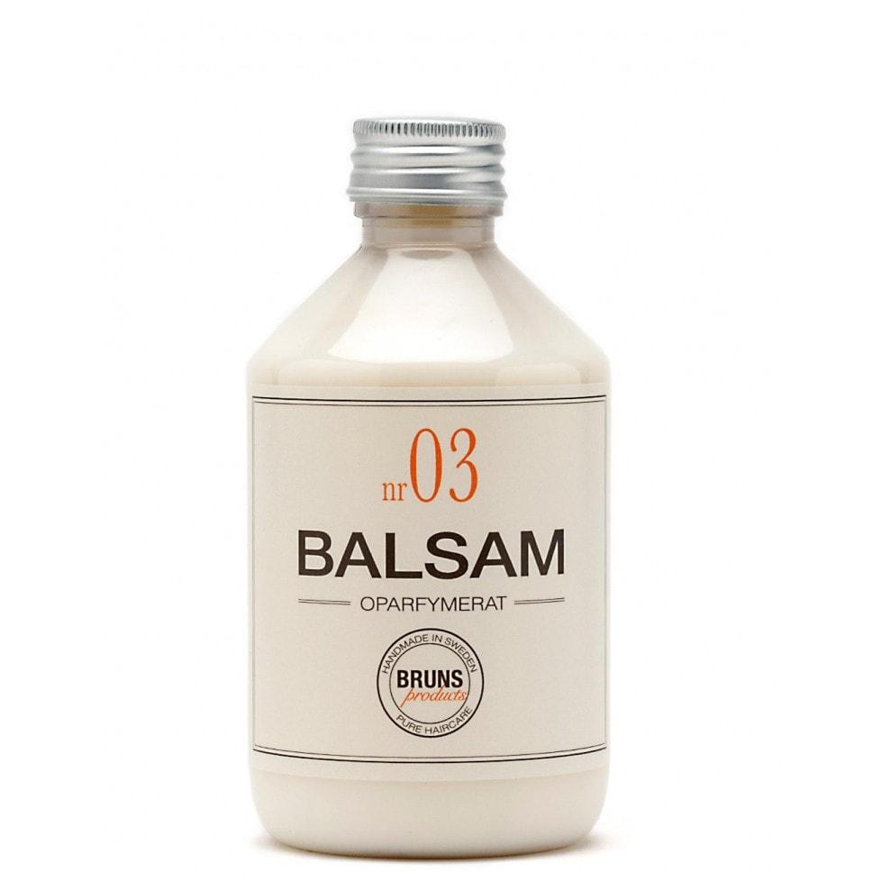 Bruns Products Balsam 03 Oparfymerat 330ml - För alla hårtyper