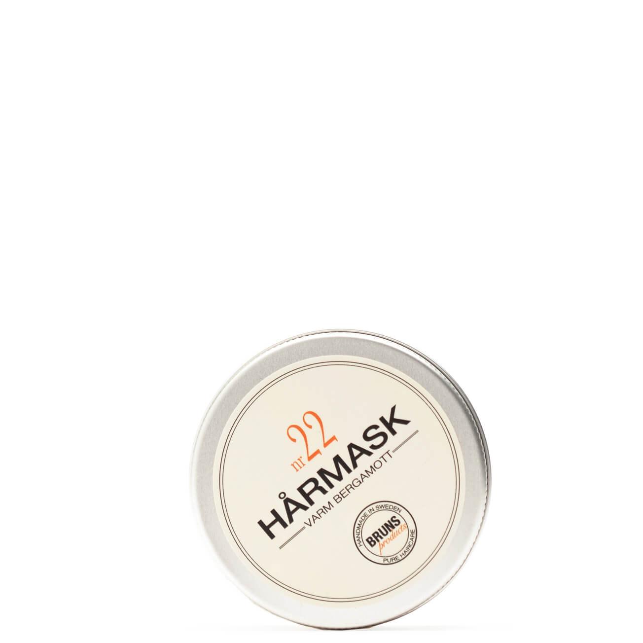 Bruns Products Hårmask 22 Varm Bergamott 50ml- För torrt, skadat & tjock hår