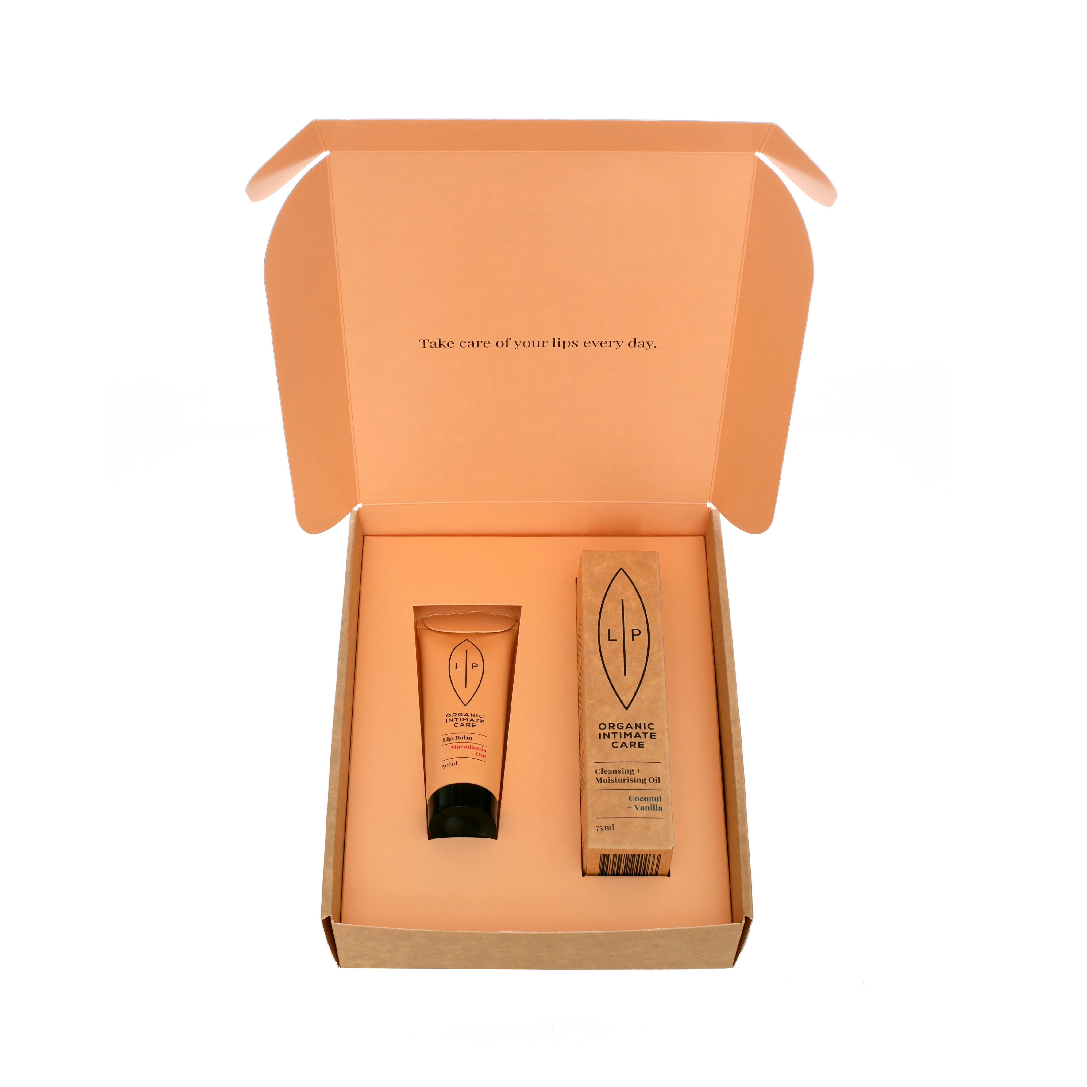 Giftbox Lip Intimate Care - Duo Cleansing Coconut + Lip Balm