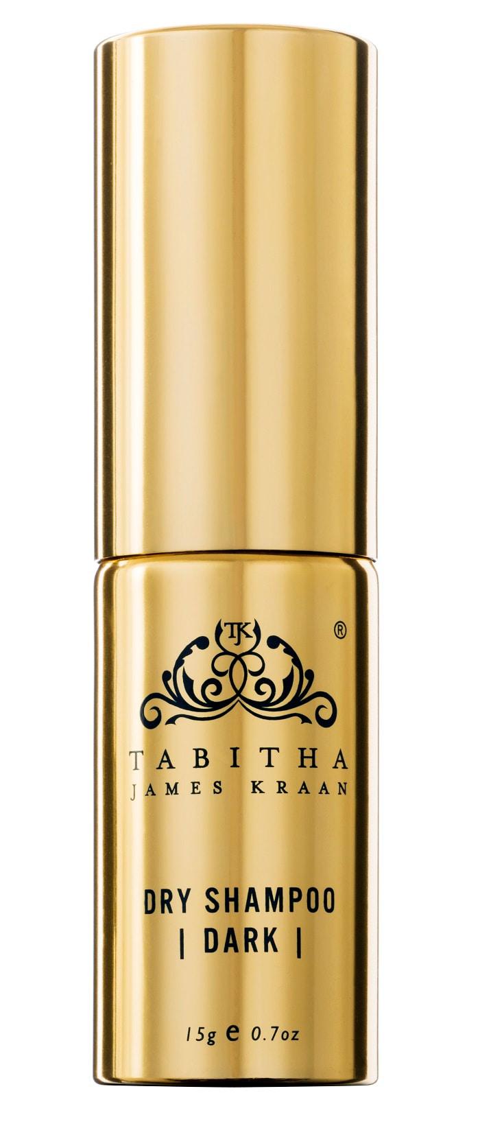 Tabitha James Kraan Compact Organic Dry Shampoo Dark Hair 15g