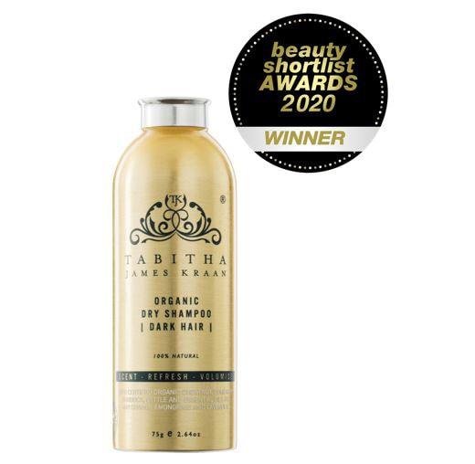 Tabitha James Kraan Organic Dry Shampoo Dark Hair 75g