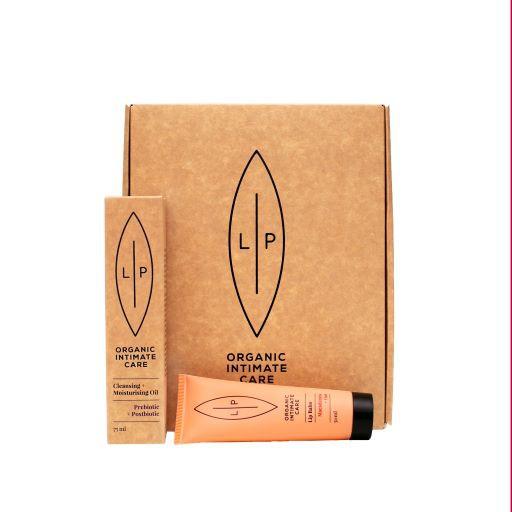 Giftbox Lip Intimate Care - Duo Cleansing Prebiotica + Lip Balm