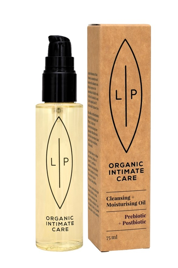 Lip Intimate Care - Cleansing & Moisturising Oil Prebiotic + Postbiotic