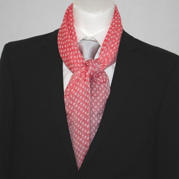 Scarf Napoli Summer Dots Red