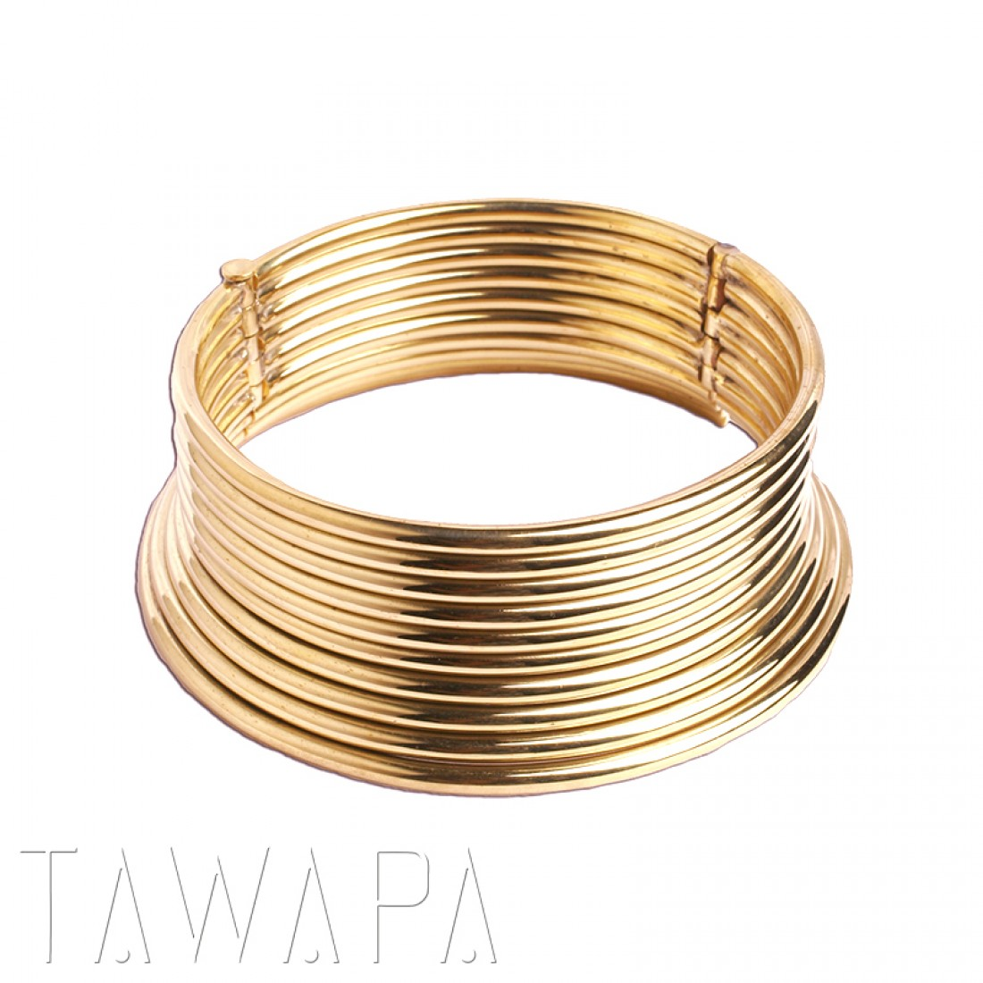 Tawapa - Halsband i mässing - karen