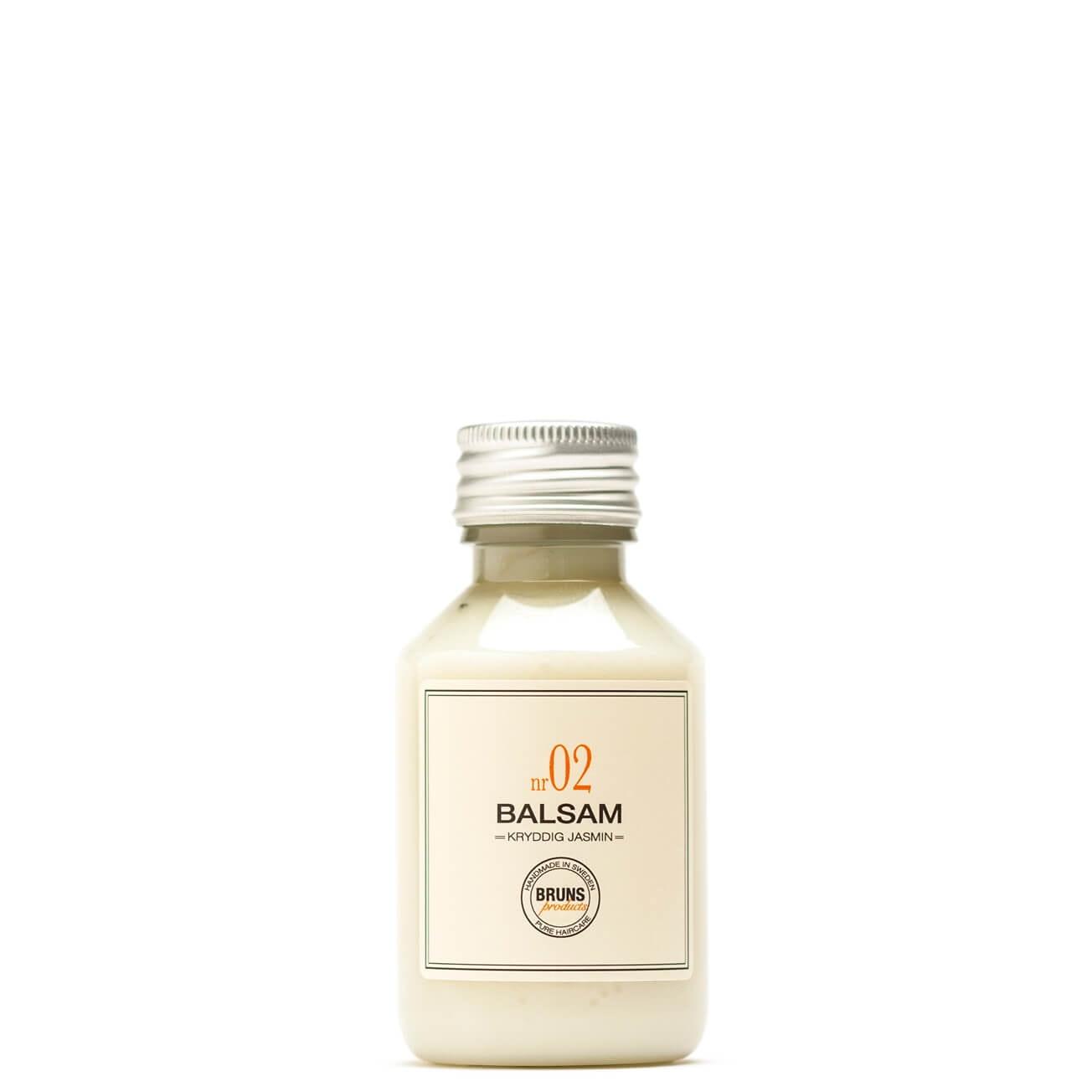 Bruns Products Balsam 02 Kryddig Jasmine 100ml - För torrt & extra torrt hår samt balsammetoden