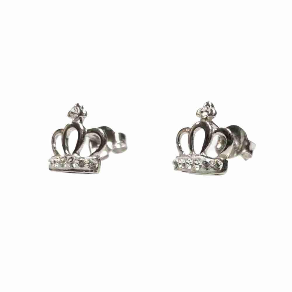 Silverörhängen - kronor -äkta silver