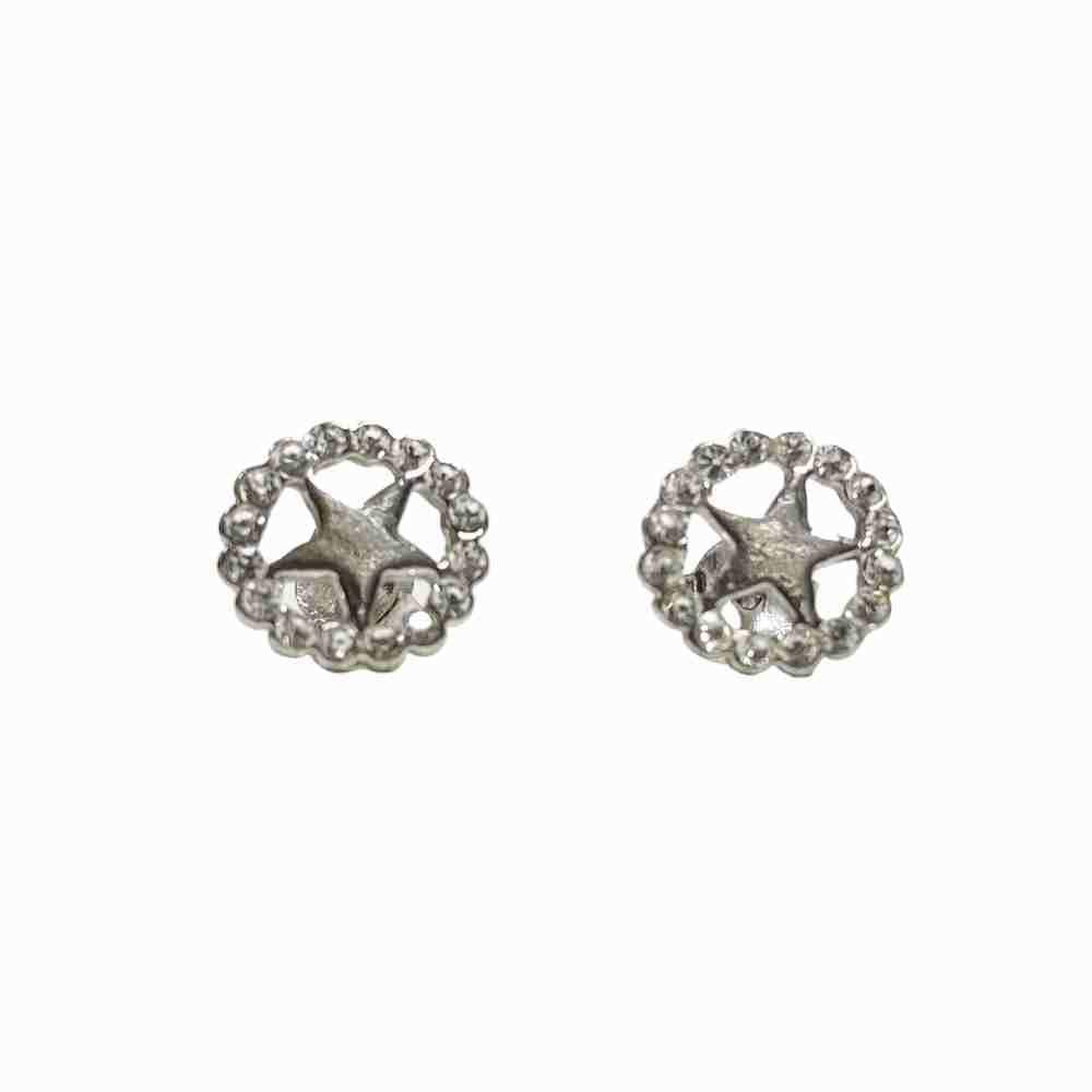 Silverörhängen - stjärnor -äkta silver