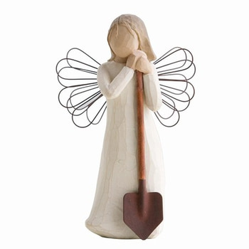 Angel of the garden 14 cm - Willow Tree