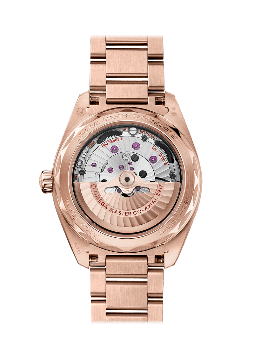 Omega Seamaster Aqua Terra 150M Co‑Axial Master Chronometer Small Seconds 41 mm Blå 18 K Sedna™guld