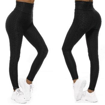 Svarta sportiga leggings