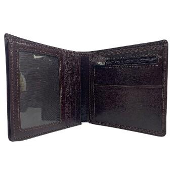 Le Salle Dollar Plånbok i Skinn Brun