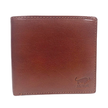 Le Salle Dollar Plånbok i Skinn Cognac