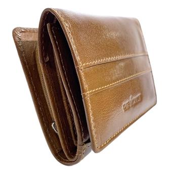 The Monte Klassisk Plånbok Liten i Skinn Cognac