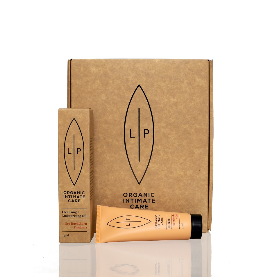 Giftbox Lip Intimate Care - Duo Fragonia Cleansing Oil + Lip Balm