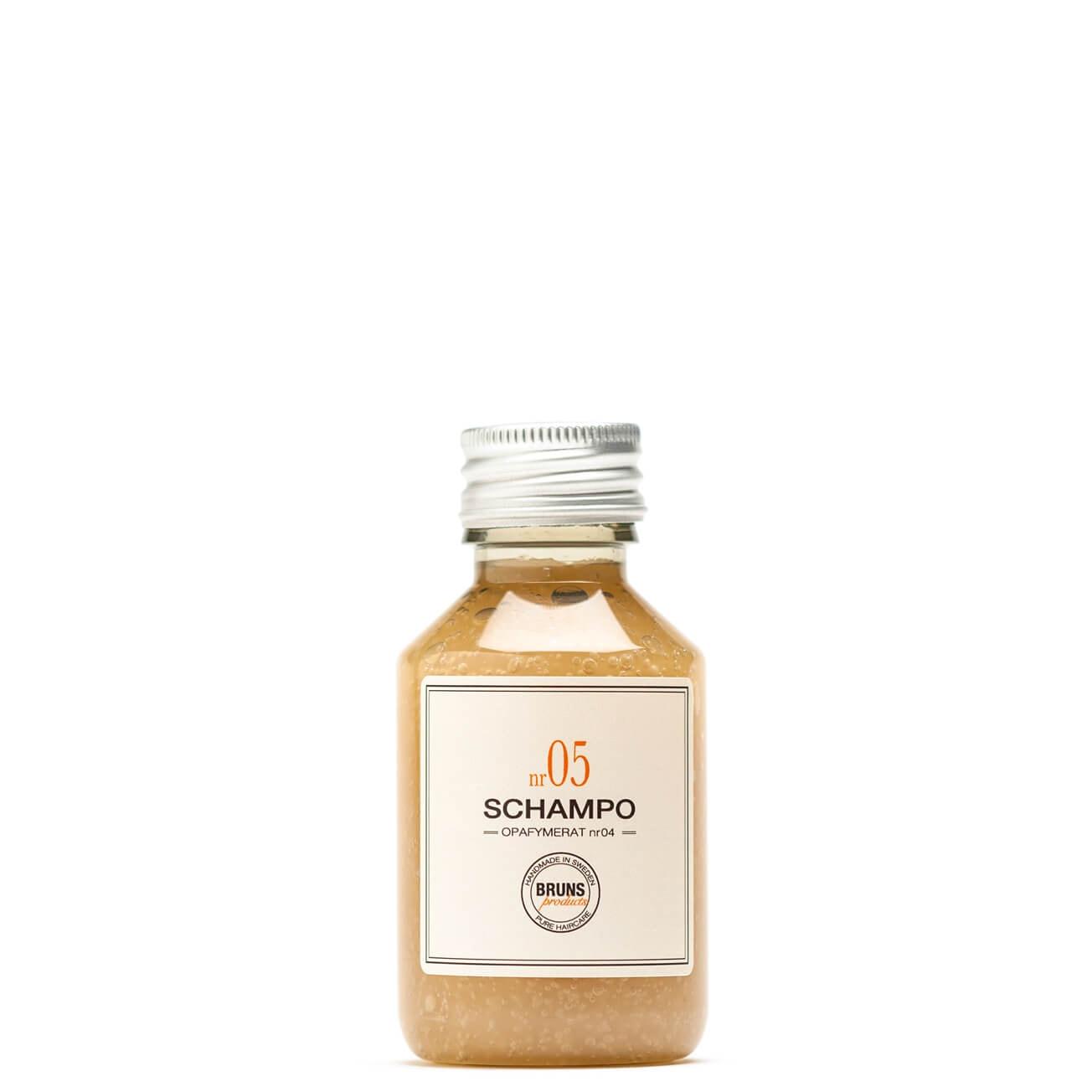 Bruns Products Schampo 05 Oparfymerat Detox 100ml- För allergiker, känslig hårbotten, fet hårbotten & som detox