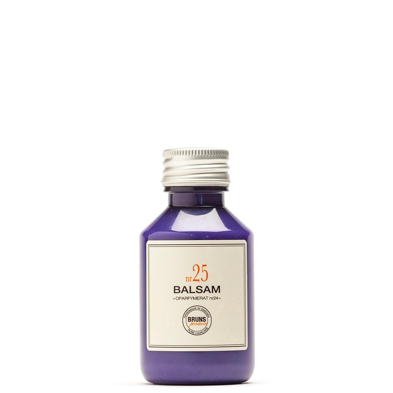 Bruns Products Balsam 25 Blonde Beauty 100ml Doftfritt - Silverbalsam för blonda & gråa hår