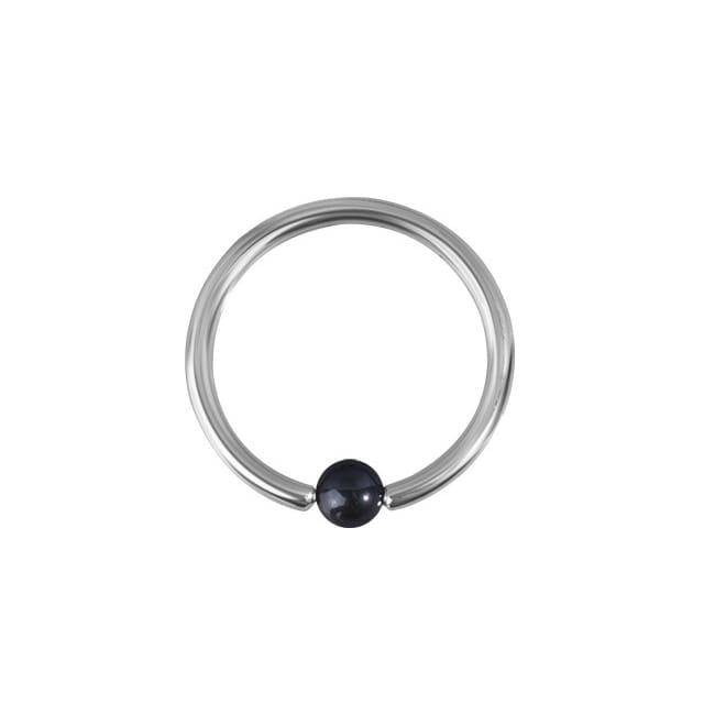 Ball Closure Ring - 1,2 mm i allergivänligt titan