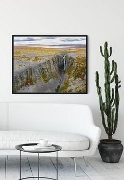 Canvas print - Njupeskär