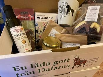 A box of goodies from Dalarna