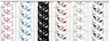 """Panel Curtains Model """"Gourd"""" 43x240 cm 2-Pack"""