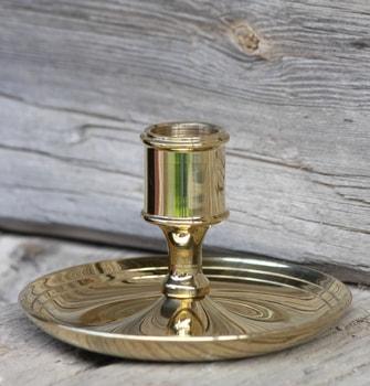 Candlestick, Brass, height 64mm