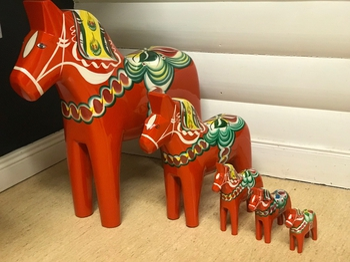 Dala horse 15 cm