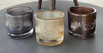 Candle lantern - cacao
