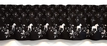 Fabric by the meter curtain valence fabric curtain - Gourd border