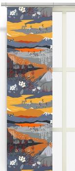 Panel Curtains - Fjällvandring 43x240 cm 2-Pack