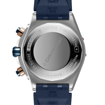 Breitling Super Chronomat 44 Four-Year Calender Blå