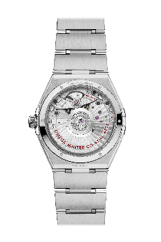 Constellation CO‑Aaxial Master Chronometer Small Seconds 34 mm Silver
