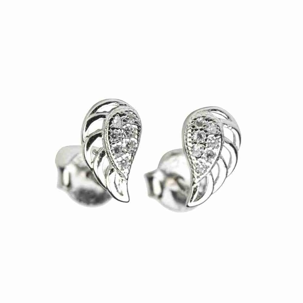 Örhänge i äkta silver - Änglavingar