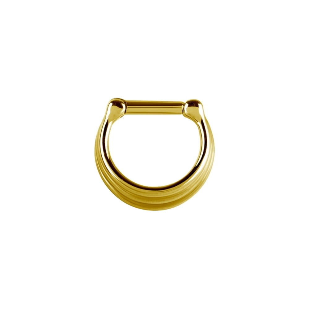 Clicker - 1,2 mm - 6 & 8 mm - guld