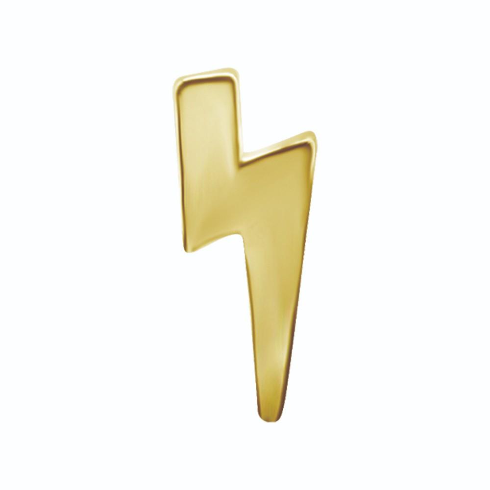 Topp - blixt - 18K äkta guld