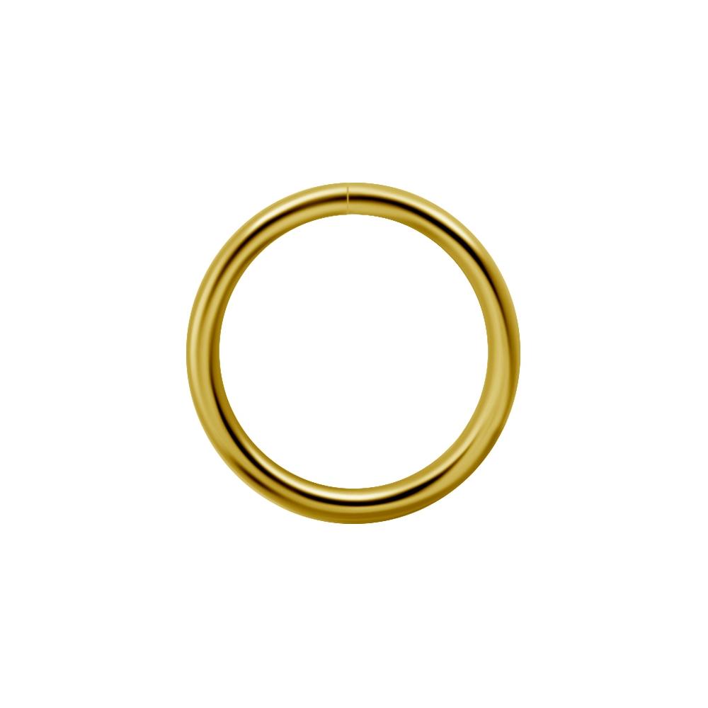 Guldring - 0,8 mm - 18 K guld