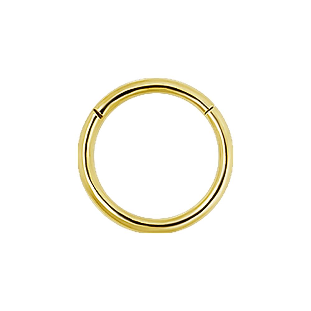 Clicker - 1,2 mm x 8 mm - 18 K guld