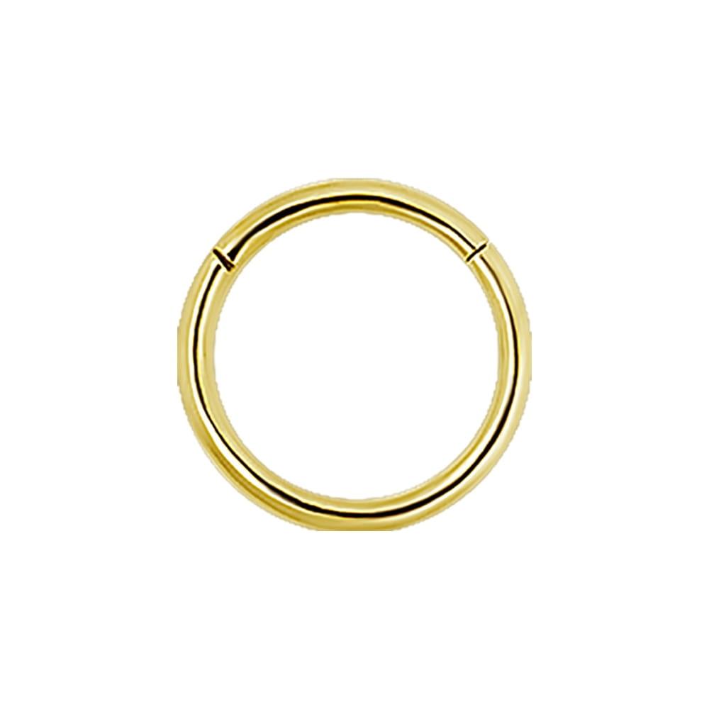 Clicker - 1,2 mm x 6 mm - 18 K guld
