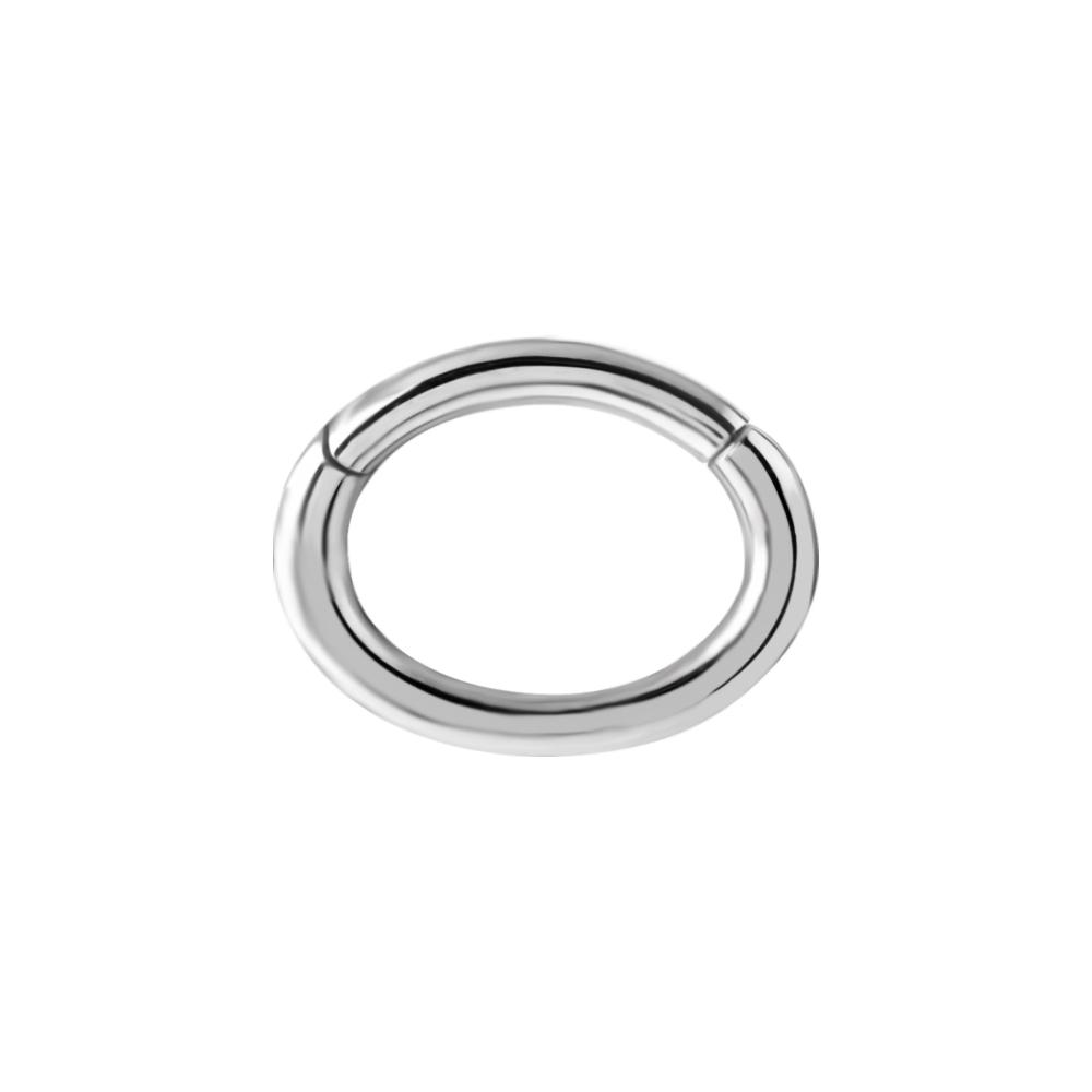 Oval clickerring -1,2*5*7 mm -Kirurgiskt stål